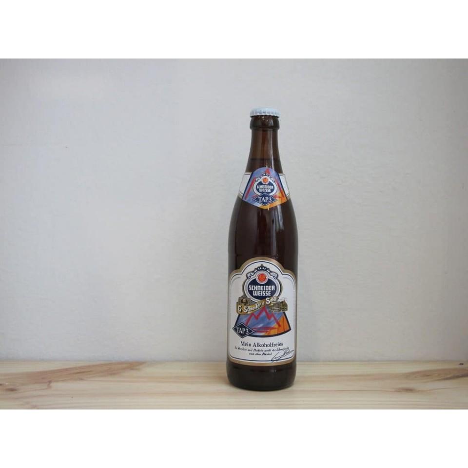 Botella de Cerveza Schneider Weisse Mein Alkoholfreies TAP 3 sin alcohol