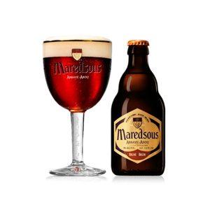 Cerveza Maredsous Brune 8