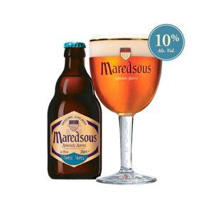 Cerveza Maredsous Triple 10
