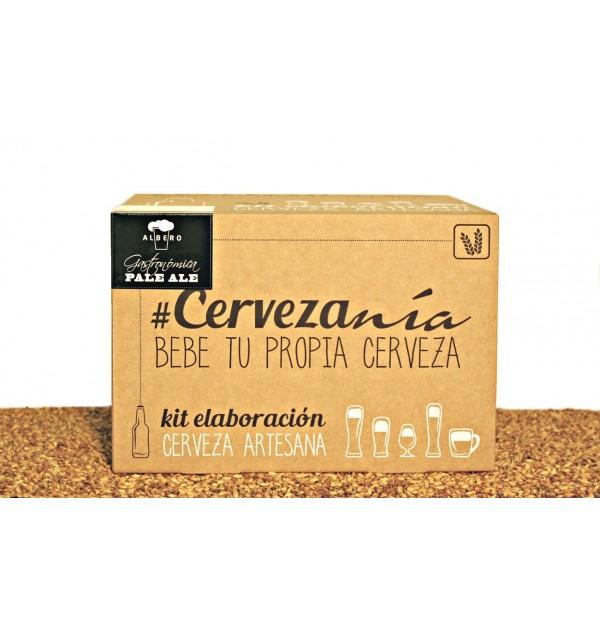 Cervezanía Kit de elaboración Albero Gastronómica Pale Ale
