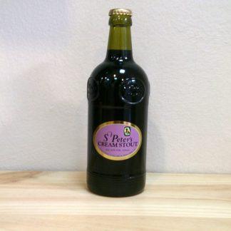 Botella de Cerveza St. Peter's Cream Stout