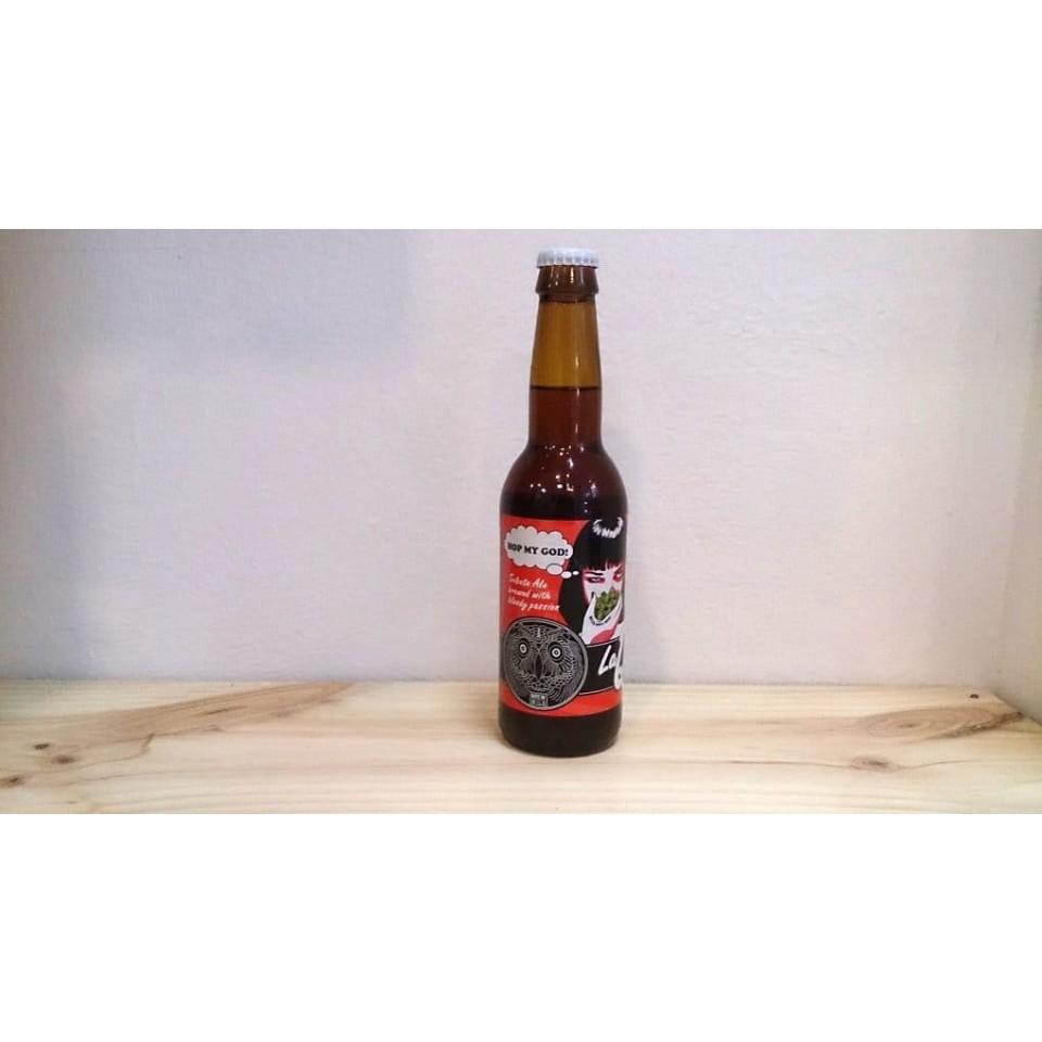Botella de Cerveza La Quince Hop Fiction