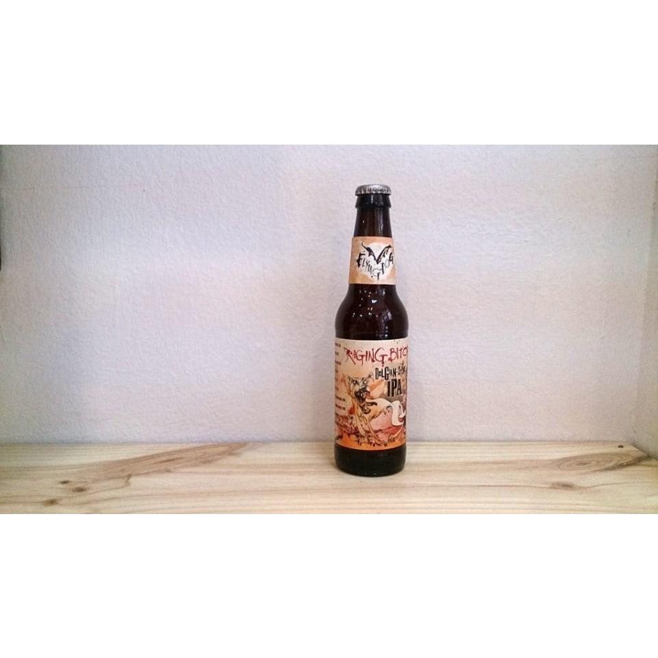 Botella de Cerveza Raging Bitch Belgian IPA de Flying Dog Brewery