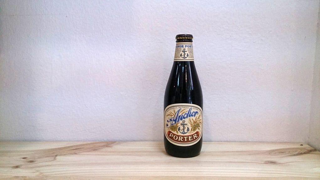 Botella de Cerveza Anchor Porter