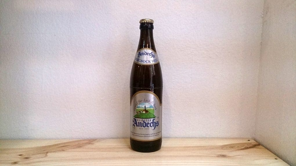 Botella de Cerveza Andechs Bergbock