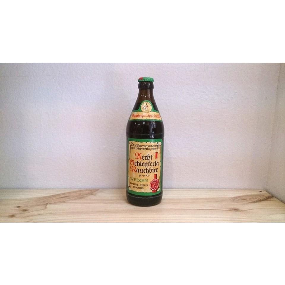 Botella de Cerveza Aecht Schlenkerla Rauchbier - Weizen