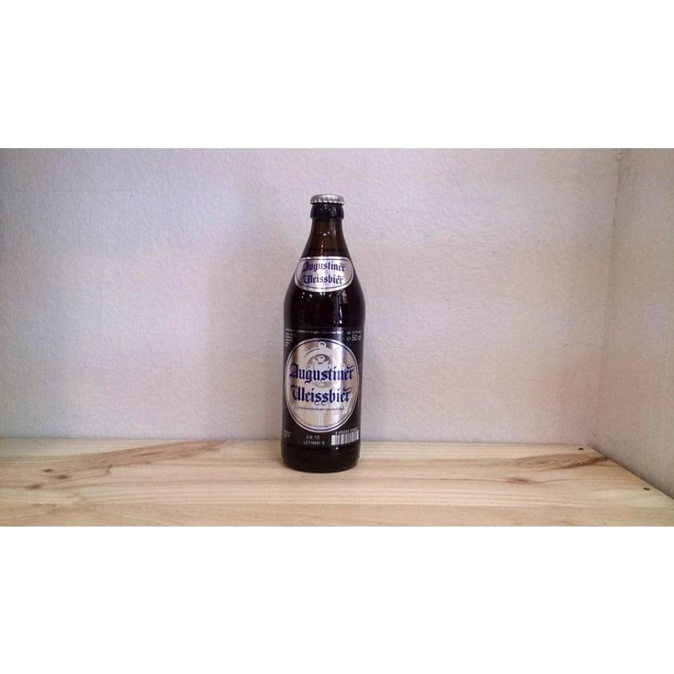 Botella de Cerveza Augustiner Weissbier