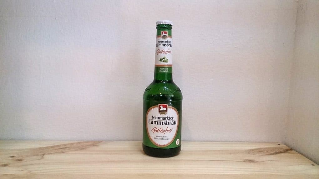 Botella de Cerveza sin gluten Lammsbräu Glutenfrei