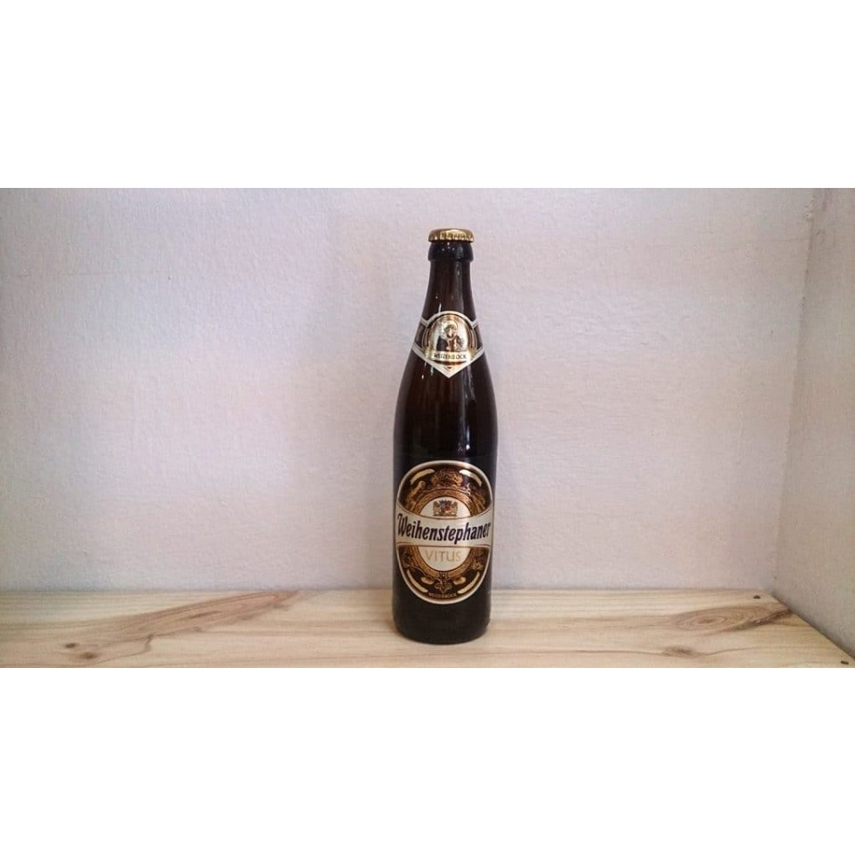 Botella de Cerveza Weihenstephaner Vitus
