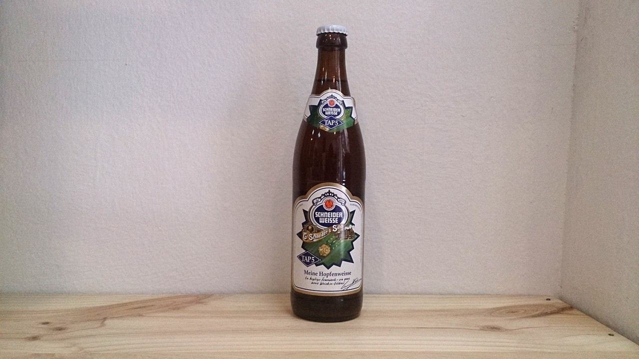 Botella de Cerveza Schneider Weisse TAP 5