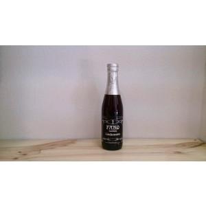 Botella de Cerveza lámbica Lindemans Faro