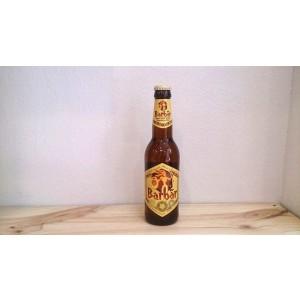 Botella de Cerveza de miel Barbãr