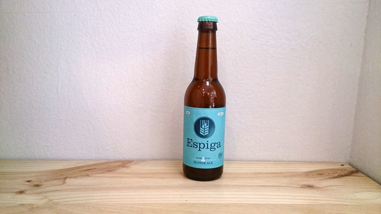 Botella de Cerveza Espiga Sin gluten Blond Ale