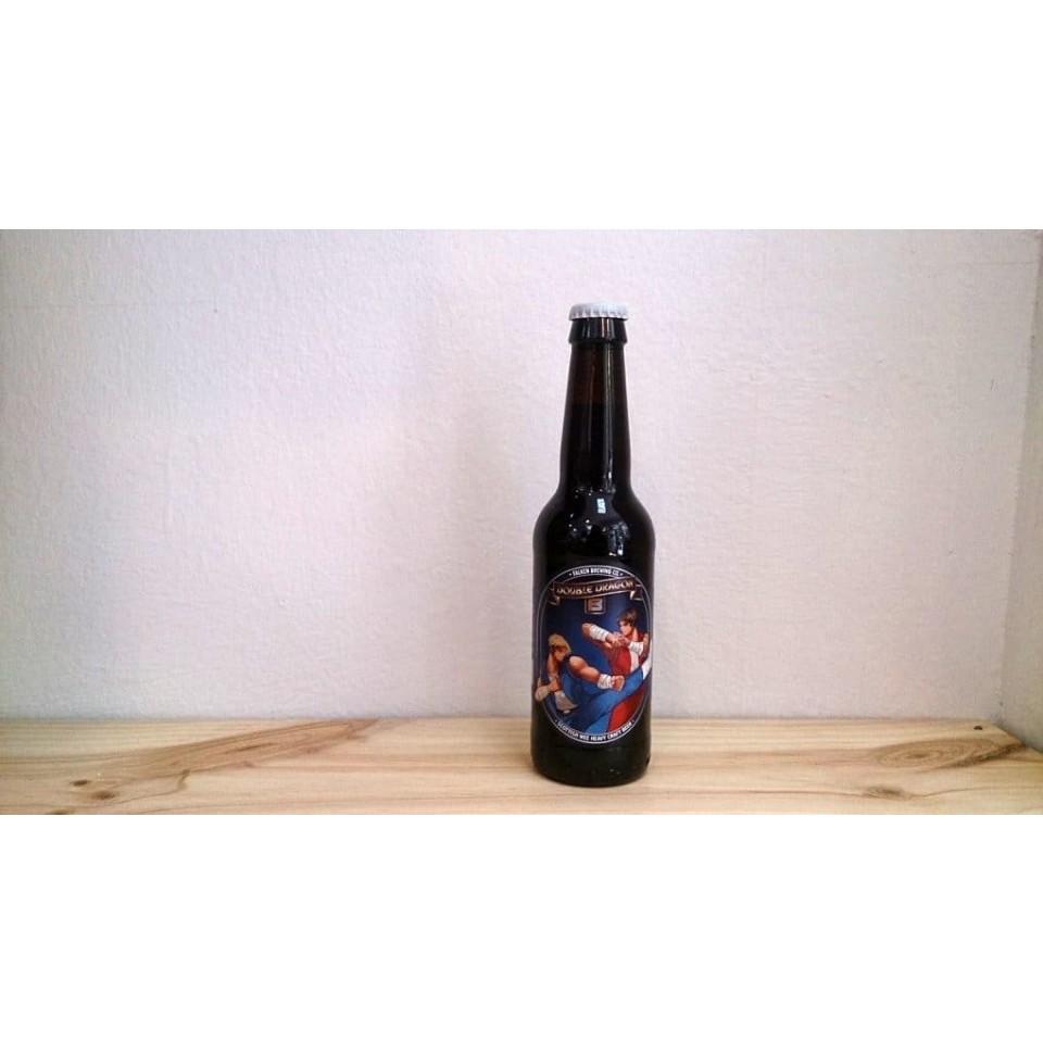 Botella de Cerveza Falken Double Dragon