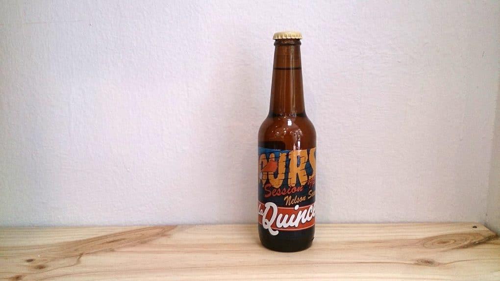 Botella de Cerveza La Quince 15 hours