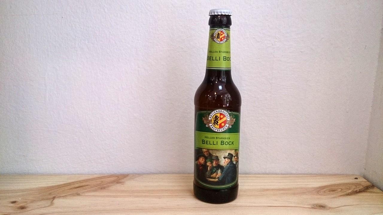 Botella de Cerveza Aktienbrauerei Belli Bock