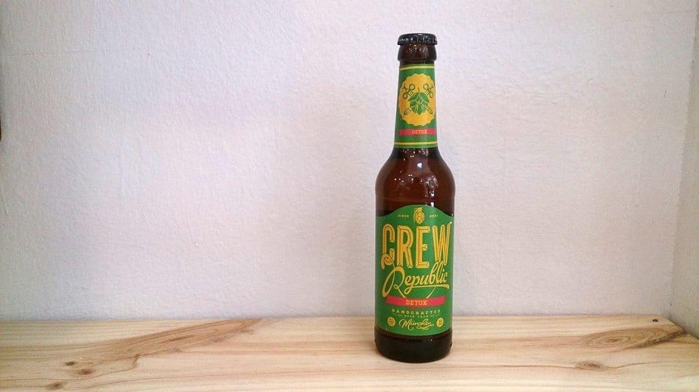 Botella de Cerveza Crew Republic Detox