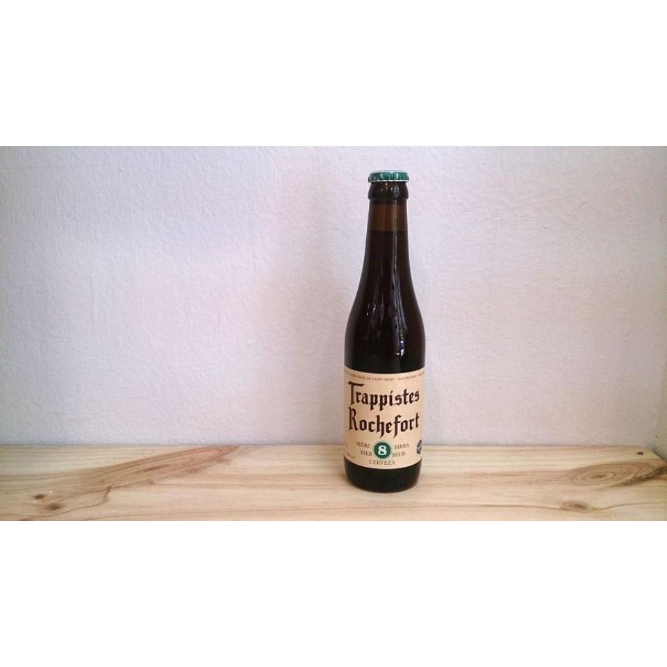 Botella de Cerveza Trappistes Rochefort 8