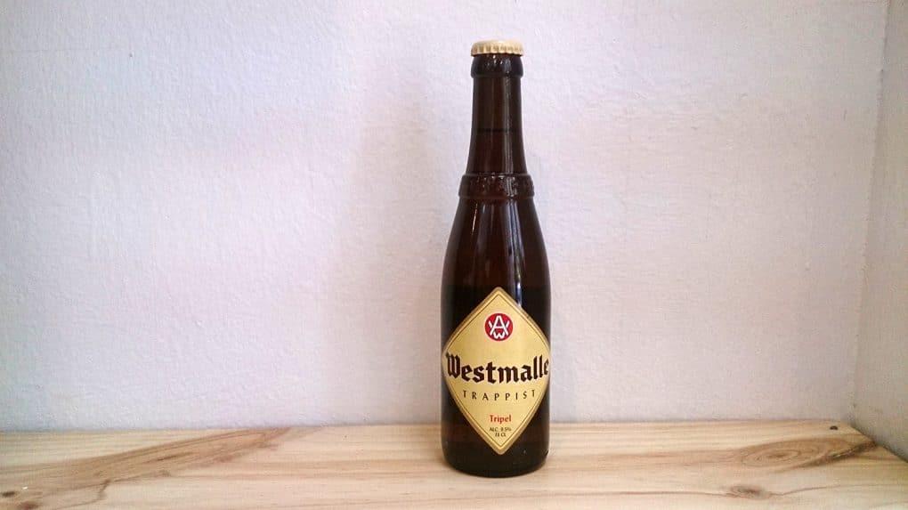 Botella de Cerveza Westmalle Tripel