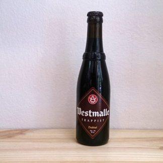 Botella de Cerveza Westmalle Dubbel
