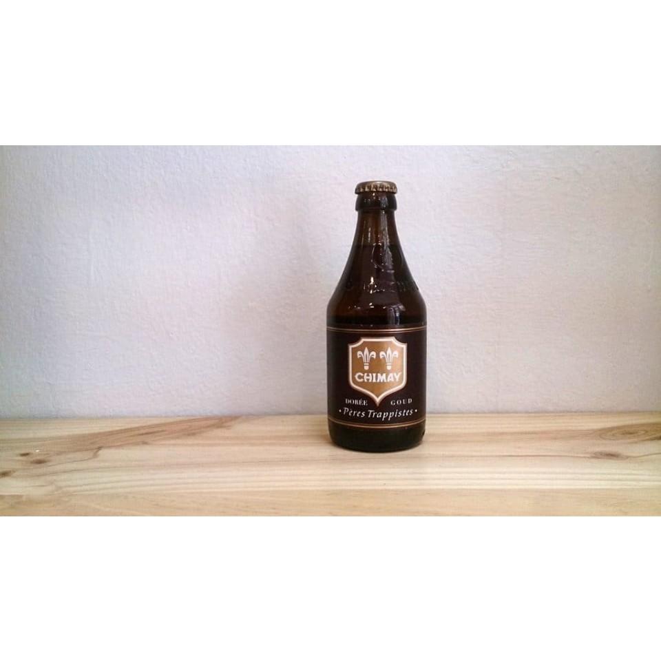 Botella de Cerveza Chimay Dorée