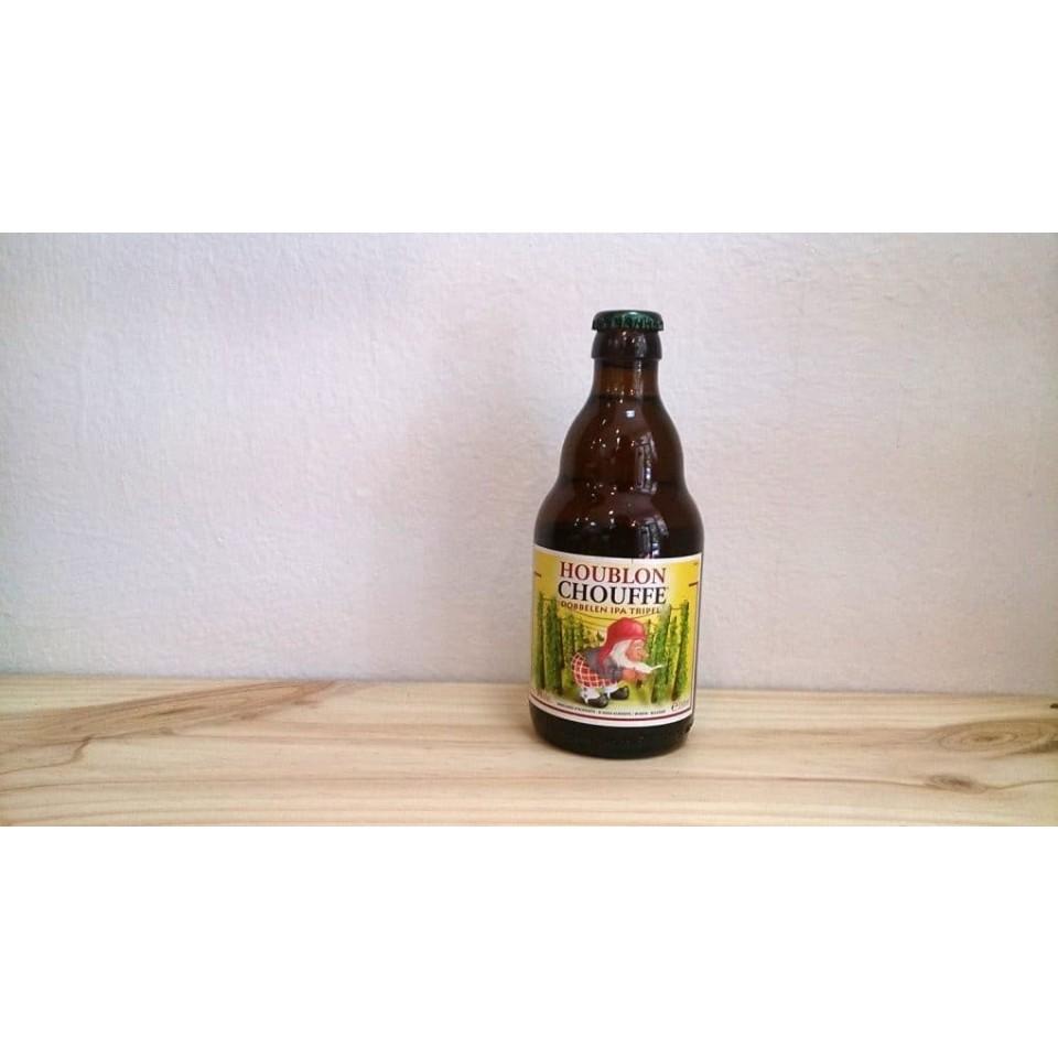 Botella de Cerveza La Chouffe Houblon