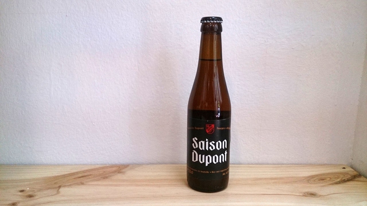 Botella de Cerveza Saison Dupont