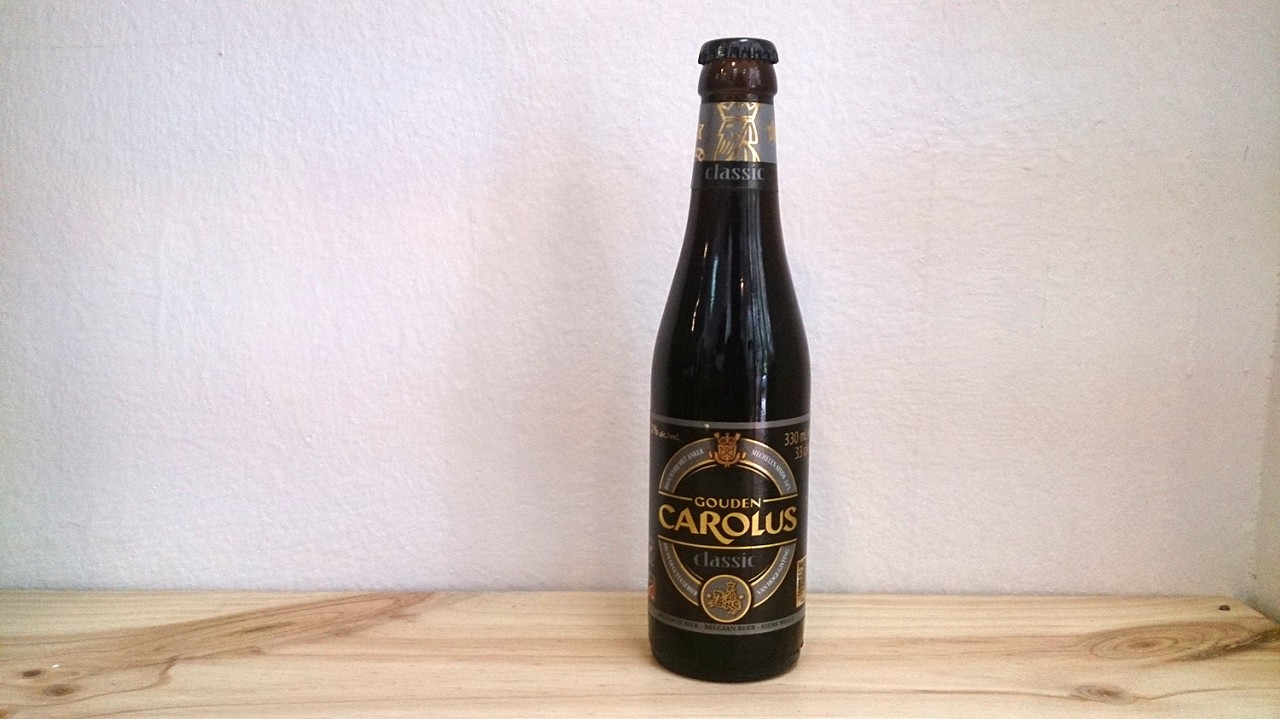Botella de Cerveza Gouden Carolus Classic
