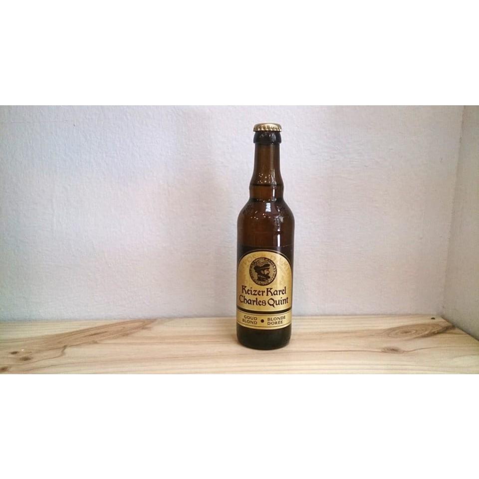 Botella de Cerveza Keizer Karel Charles Quint Blonde Dorée