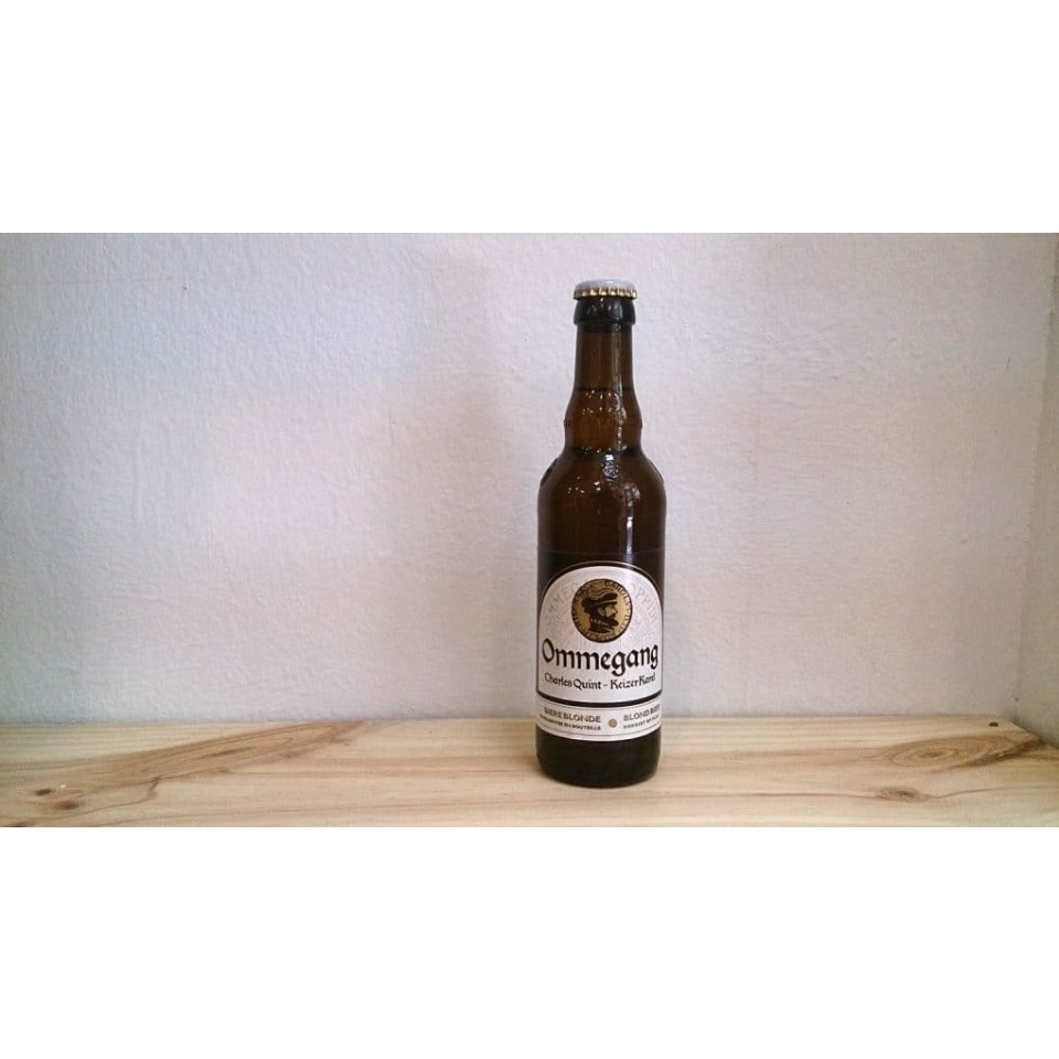 Botella de Cerveza Cerveza Keizer Karel Charles Quint Ommegang