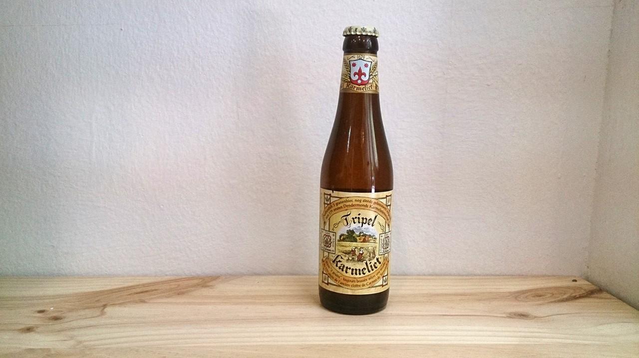Botella de Cerveza Tripel Karmeliet