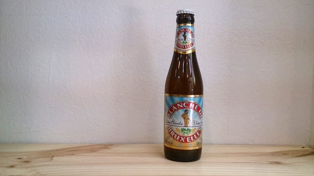 Botella de Cerveza Blanche de Bruxelles