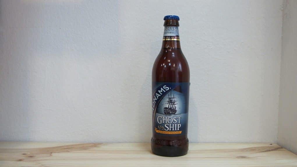 Botella de Cerveza Adnams Ghost Ship