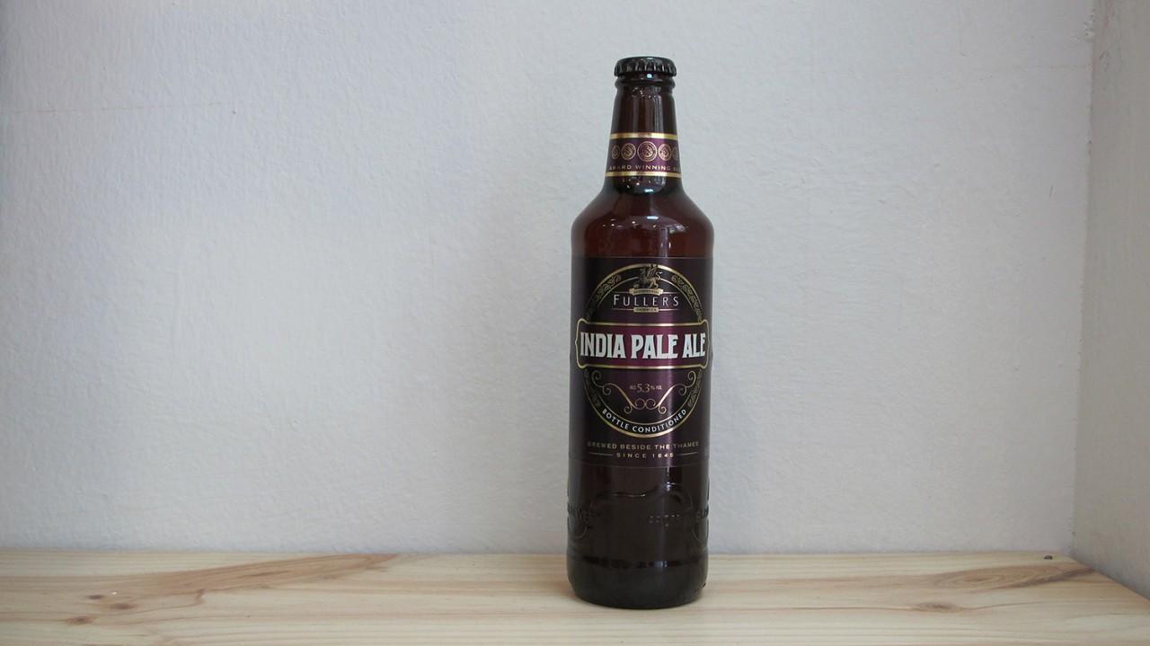 Botella de Cerveza Fuller's IPA