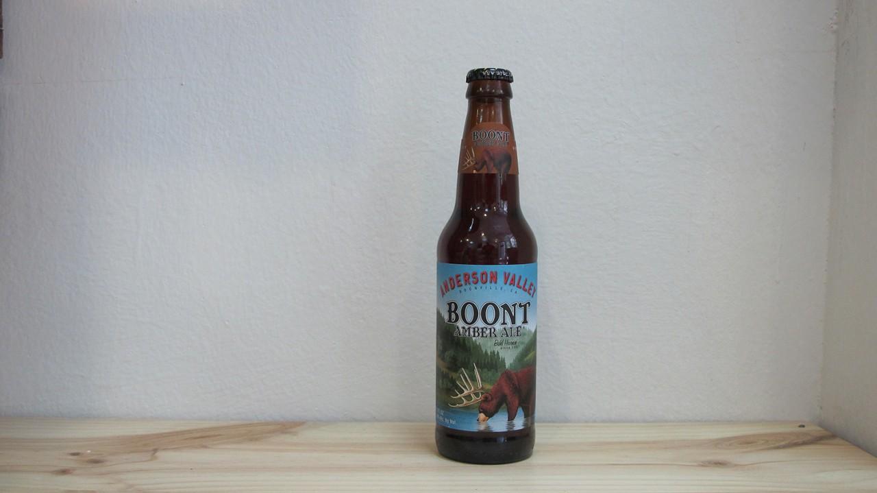 Botella de Cerveza Anderson Valley Boont Amber