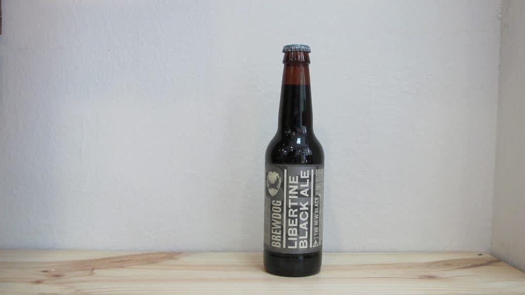 Botella de Cerveza BrewDog Libertine Black Ale