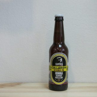 Botella de Cerveza Guineu Collabrew