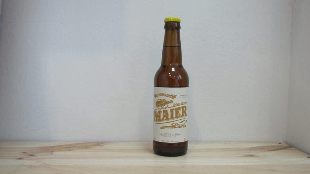Botella de Cerveza Maier Triple Dorada