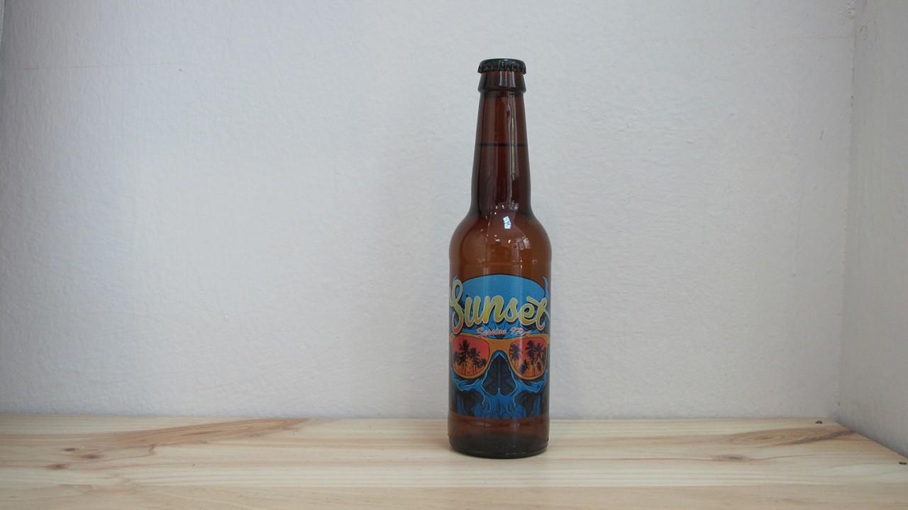 Botella de Cerveza Naparbier Sunset