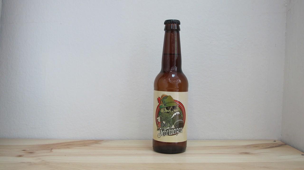 Botella de Cerveza Naparbier Napar Hefeweizen
