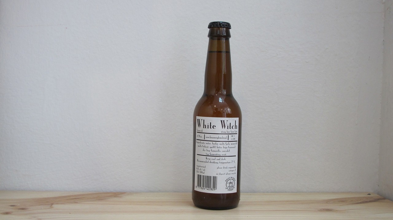 Botella de Cerveza De Molen White Witch