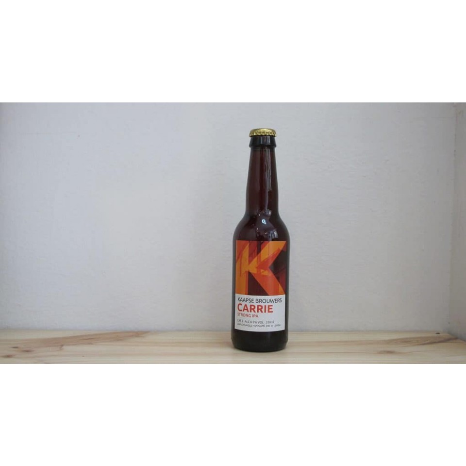 Botella de Cerveza Kaapse Carrie