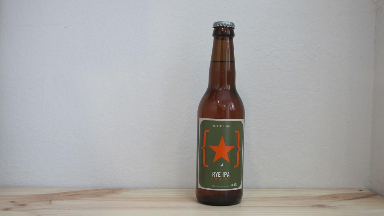 Botella de Cerveza Lervig Brewers Reserve Rye IPA