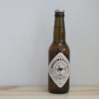 Botella de Cerveza Brouwerij 't IJ IJWit