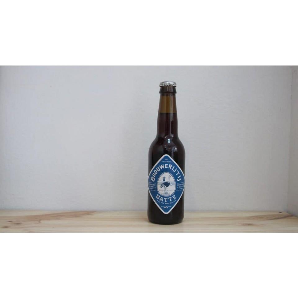Botella de Cerveza Brouwerij 't IJ Natte Bio
