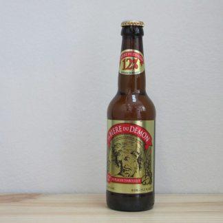 Botella de Cerveza La Biere du Demon