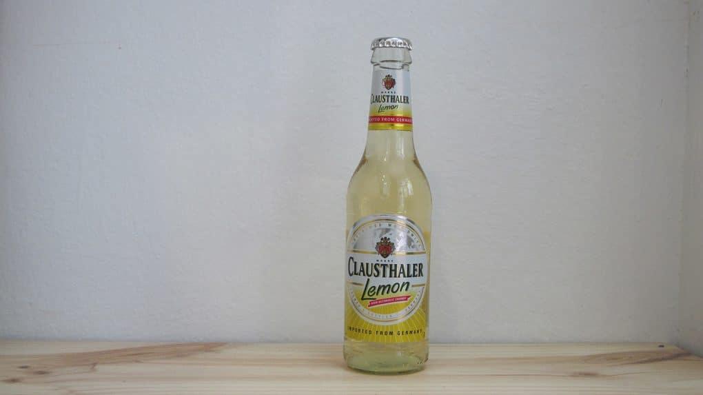 Botella de Cerveza Clausthaler Lemon Radler sin alcohol
