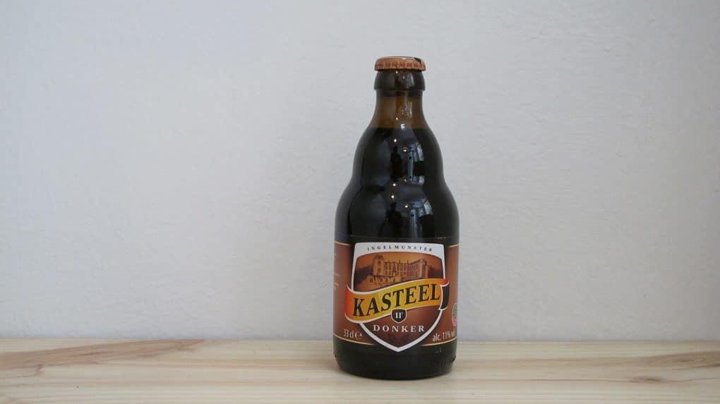 Botella de Cerveza Kasteel Donker