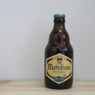 Botella de Cerveza Maredsous 10º Triple