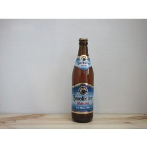 Botella de Cerveza Benediktiner Weissbier Alkoholfrei
